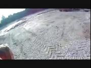 Fucking Glasses - Fucked on a construction sites