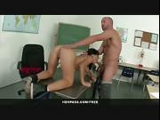 Latina schoolgirl Liv Aguilera sucks and fucks her teacher after class