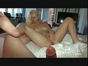 Real Girls Gone Bad - innocent 18 year old pretty blonde babe gets very naughty during her Sexy Shoot.