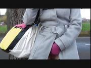 Smoking dark pornstar Chloe Lovettes public nudity and outdoor brunette flashers daring exhibitionist masturbation on roadsides and in alleys for voyeurs and sneaky peekers