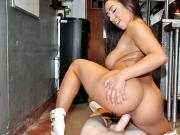 Priya Price Latina Waitress's Kitchen Blowjob LatinaSexTapes