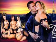 Lea Guerlin, Nikita Bellucci, Sophia Laure and Stella Cox A French Affair DigitalPlayground