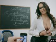 French teacher Anissa Kate anal sex with her a student