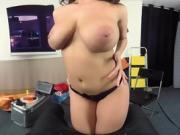 BaDoink VR Busty Italian Spy Babe Craves Cock POV Big Tits