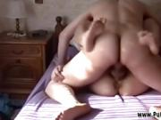 Italian stepfather fucks stepdaughter while mom works