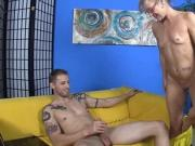 Young Guy Caught Red-Handed Jacking Off Big Cock