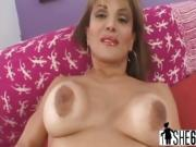Old Slut Sofia Gives Head And Pounded On Couch