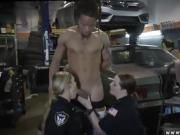 Black police woman and sexy milf Chop Shop Owner Gets Shut Do