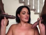 Hot Cougar Cristal Caraballo Gets Humped And Cum Sprayed