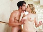 Teen Bombshell Aubrey Sinclair Enjoys Dicking By BF