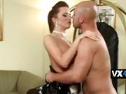 Cindy Dollar sucks cock and gets fucked