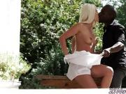 Beautiful euro amateur screwed by black dick