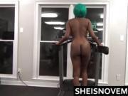 Stranger Fuck Ebony Black Teen Public Blowjob In Gym Hardcore