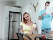 Annoyed Stepbro Fucks Lazy Stepsis Because She Skips Chores