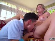 Milf movieked up and fucked Watch her love his