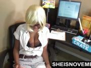 Hot Teen Girl Fucking Her Boss To Keep Her Job Ebony Riding
