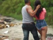 Girl blowjob Car problems in the middle of nowhere in Florida