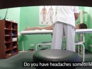 Doctor bangs european student in office