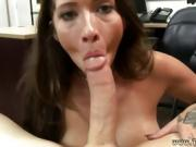White hardcore strap on and brunette milf anal hd Vinyl Queen