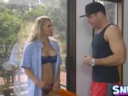 Chad White bangs his step sister Alix Lynx
