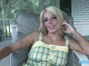 Blonde MILF strips her clothes off by MilfDestroy
