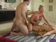 Maya Devine nuru massage for two guys
