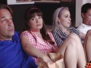 Alison Rey And Iris Rose her Movie Night Fucking