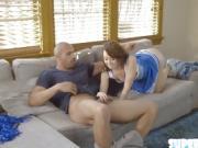 Hot ass Harley seduces and fucks coach