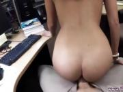 Blowjob machine and brunette amateur missionary I took her to