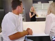 Brandi Love gave Jessy Jones a hot blowjob