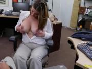 Busty Milf Customer Pawns Her Body For Badly Needed Cash
