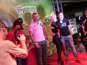 Live amateur porn casting on stage by Brunoymaria FEDA 2016