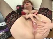 Best of British milfs: Red, Molly Maracas and Silky Thighs