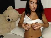 Busty Latina Striptease Watch more of her at UlaCam com