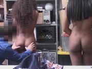 Black ebony pussy got fucked from behind