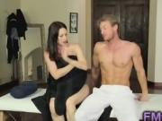 Bigtits MILF RayVeness fucked after massage