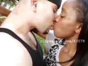 Steve and D Kissing Video 2