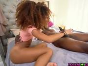 Ebony teen Kendall Woods hot hardcore fuck