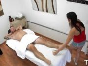 Special asian rub for horny dude