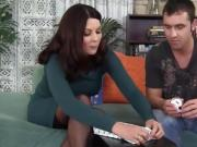 iAmPorn - Big ass brunette MILF loves doggy style