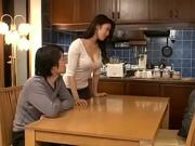 Hot Japanese Mom And Friend Son 690