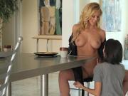 Twistys - Hot Mom Cherie DeVille eats Darcie Dolce for breakf