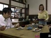 Busty japanese ruri saijou titfucking tub