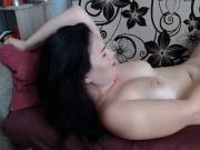 Hot Naughty Russian Hoochie Playing With Her Pussy