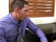 Hot Latina Cougar Fuck in the Office