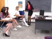Teacher needs to discipline this little lesbian slut