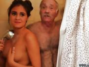 Old lady masturbates squirt and hairy xxx Chillin with a red-