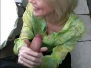 Lets fuck tall blonde mature milf in stockings