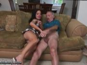 Amateur ebony cumming on dick Frankie's a quick learner!