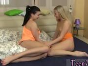 Blonde nurse facial Busty teen tempts her neighbor girl